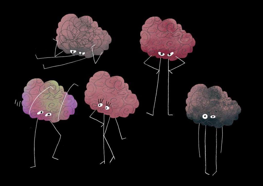 """Эскиз анимации для фильма """"Мозг. Вторая Вселенная"""". Предоставлено Юлией Киселёвой"""