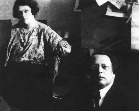 Алексей Толстой и Наталья Крандиевская