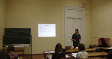 Дарья Бурлакова провела лекцию для студентов факультета журналистики МГУ