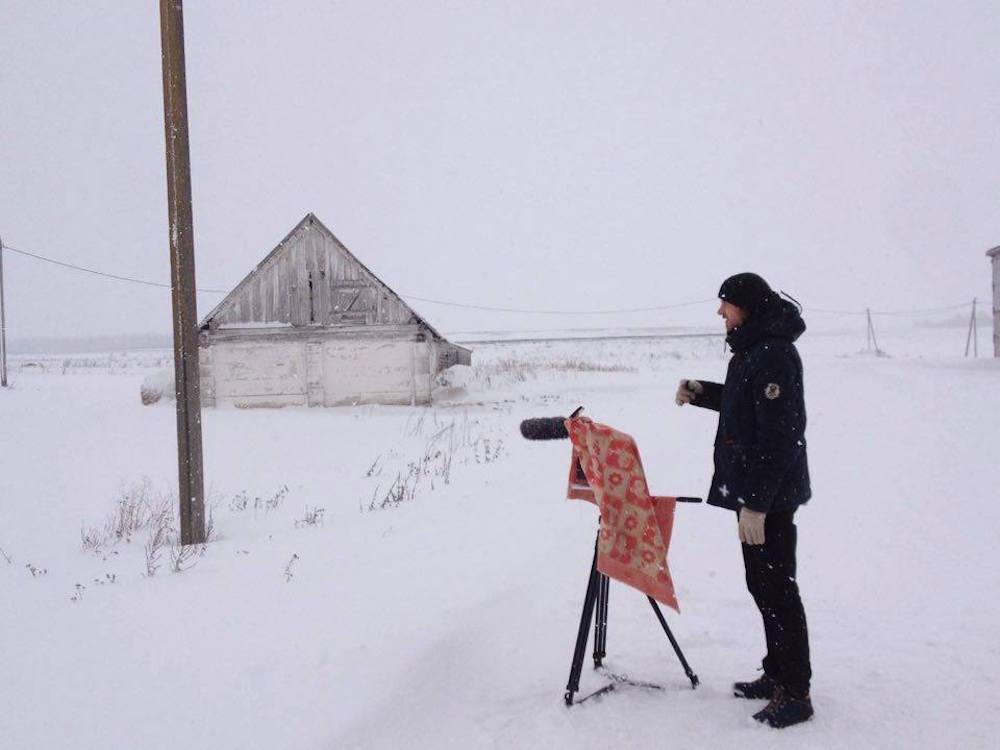 Съёмки в Белоруссии
