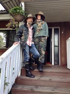 Владимир Непевный и его жена Наталья Манелис. Фото предоставлено Владимиром Непевным