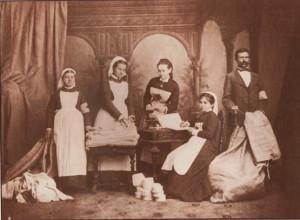 Медицинский персонал одной из санитарных частей, 1877. А.Д. Иванов.