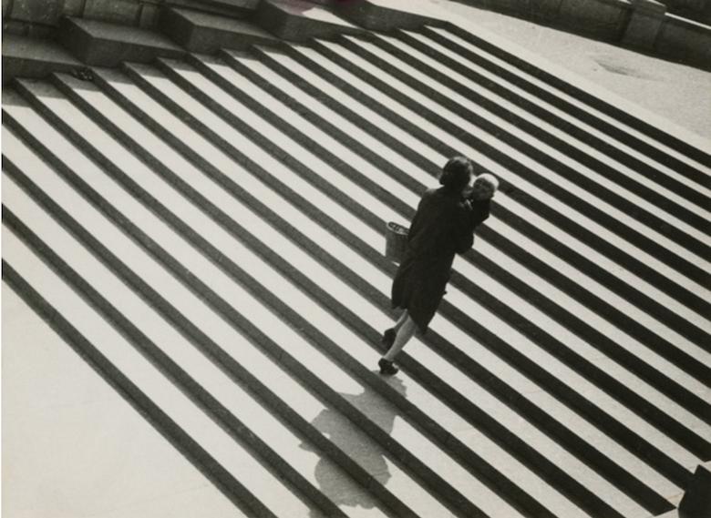 Александр Родченко. Лестница. 1930. © A. Родченко – В. Степанова архив. © Музей «Московский Дом Фотографии»