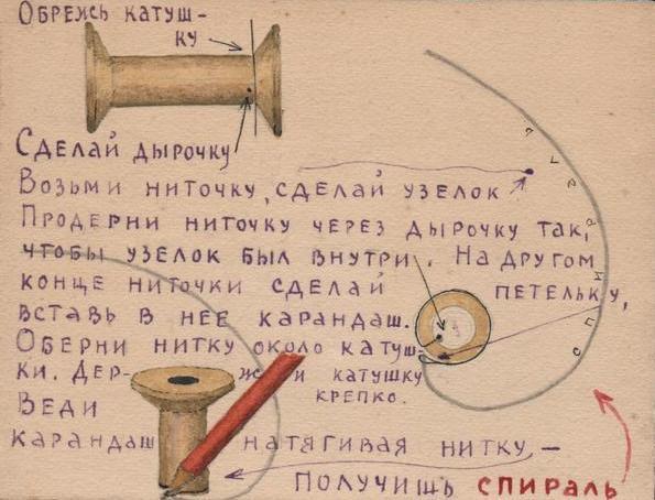 Алексей Вангенгейм. Катушка – спираль. Соловки. 1937