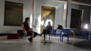 Интервью Марии Лазаревой с Филиппом Кудряшовым © ИНФОРМАЦИОННОЕ АГЕНТСТВО REALISTFILM.INFO. Photo by Alik Sandor