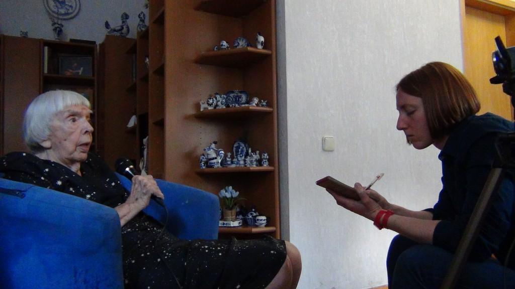 Людмила Алексеева и Елена Смирно © ИНФОРМАЦИОННОЕ АГЕНТСТВО REALISTFILM.INFO. Photo by Alik Sandor