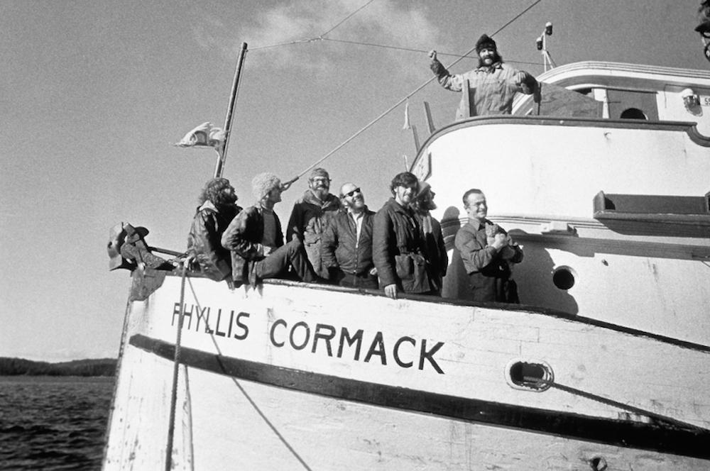 Активисты Greenpeace отправляются на остров Амчитка © Роберт Кезьер / Greenpeace