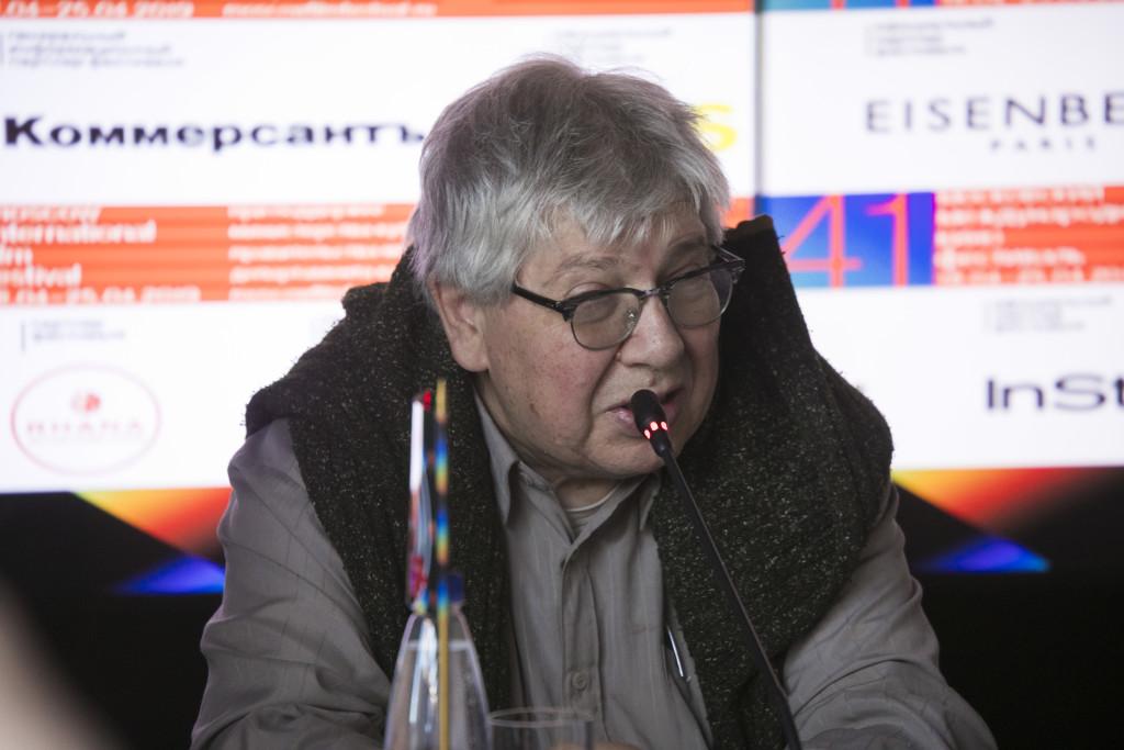 Кирилл Разлогов. Фото предоставлено пресс-службой ММКФ
