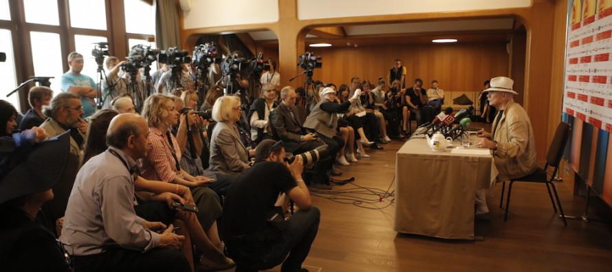 В преддверии закрытия 39 ММКФ состоялась встреча Никиты Михалкова с журналистами