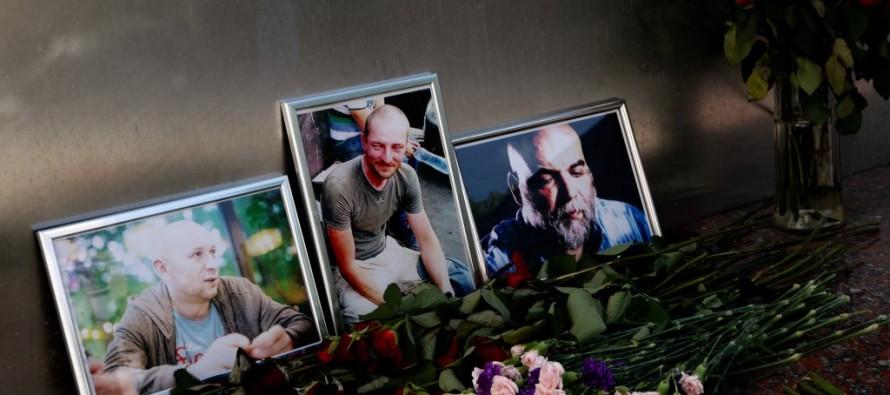 Тела Орхана Джемаля, Александра Расторгуева и Кирилла Радченко доставлены в Россию. Что известно об убийстве журналистов