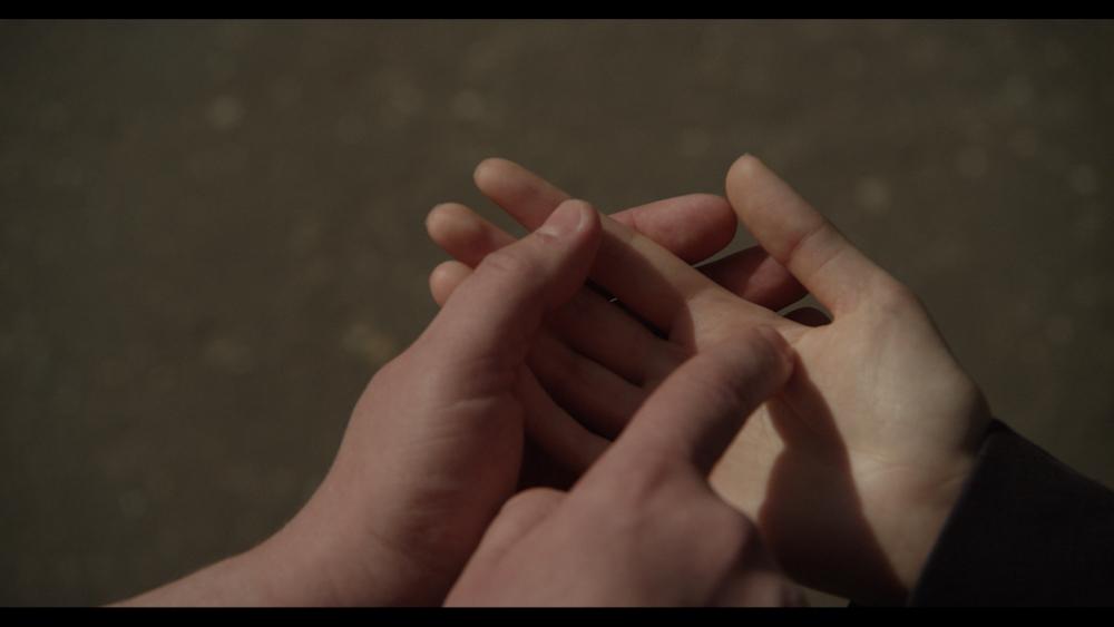 """Кадр из фильма """"Слово на ладони"""""""