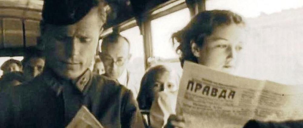 """Кадр из фильма """"Сталинград. Мы ещё живы или нет?"""""""