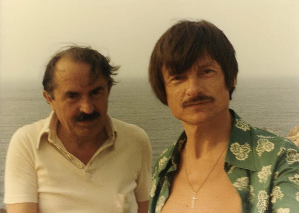 Андрей Тарковский и Тонино Гуэрра