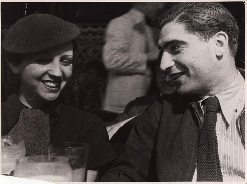 Роберт Капа и Герда Таро
