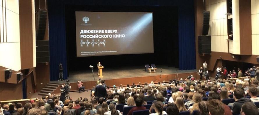 Владимир Мединский предложил ввести квоты для господдержки научно-популярных фильмов