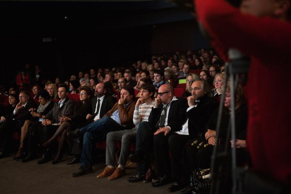 """Зрительный зал во время одного из показов """"Послания к человеку"""". Архивное фото"""